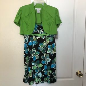 Madison Leigh Two Piece Sundress and Jacket, NWT